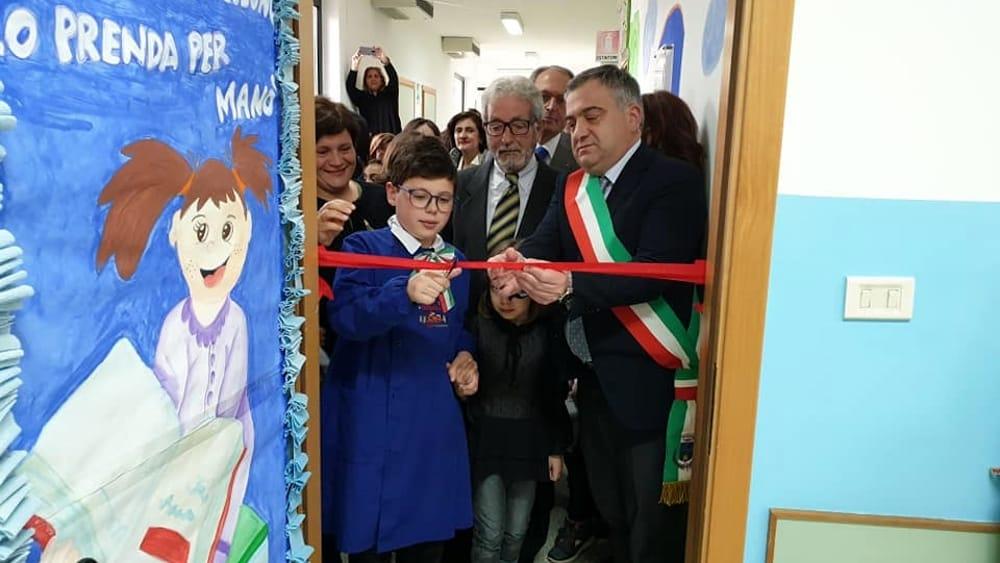 """Aperta la biblioteca scolastica """"Gianpiero Foglia"""" 16 maggio 2019"""