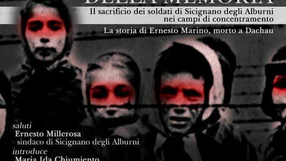 Il percorso della memoria, la storia del soldato Ernesto Marino morto a Dachau